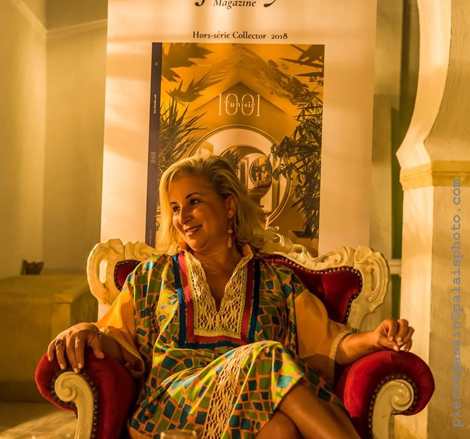 Amel Djait en mode 1001