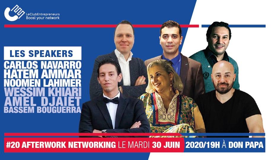 Amel Djait au Club des entrepreneurs Tunisie