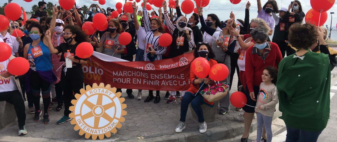 Club Rotary Notre dame s'active pour «END POLIO»